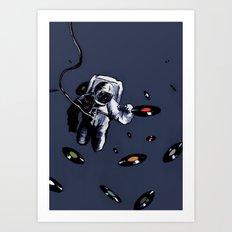 Interstellar Record Hunt Art Print
