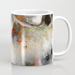 Two Dancers Entering The Stage By Edgar Degas   Reproduction   Famous French Painter Coffee Mug