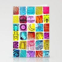 school Stationery Cards featuring School by Verismaya