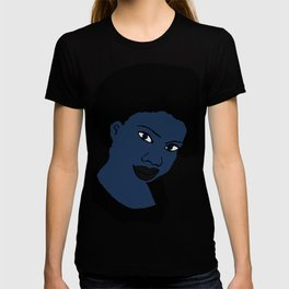 Love Your Beautiful Afro Blue Natural Hair T-shirt