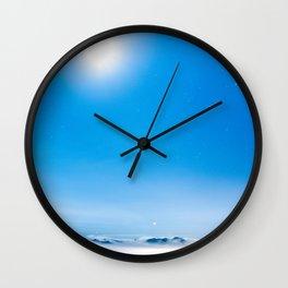 Heaven at night Wall Clock