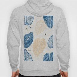 Leaves - Mid Century Pattern Hoody