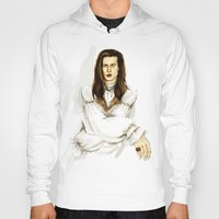 louis Hoodies featuring Louis by Myrtle Quillamor