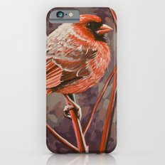Northern Cardinal Male iPhone 6s Slim Case
