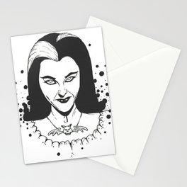 POP LILY MUNSTER BW Stationery Cards