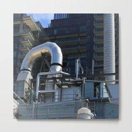 Seattle Industry Metal Print