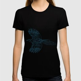 Geometrical Magpie Grid T-shirt
