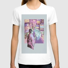 Geisha Cyberpunk T-shirt