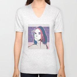 Mystic Girl Unisex V-Neck