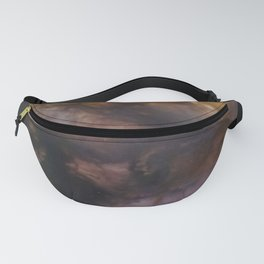 Abstract smokey background Fanny Pack