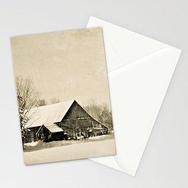 Winter Barn Stationery Cards