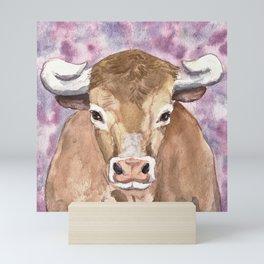 Bull Mini Art Print