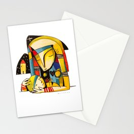Mother and Child - Home Stationery Cards