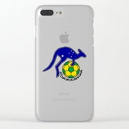 Australia Socceroos ~Group C~ Clear iPhone Case