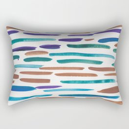 15   190304 Watercolour Painting Abstract Pattern Rectangular Pillow