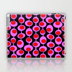 Retro Pattern 1 - Black Laptop & iPad Skin