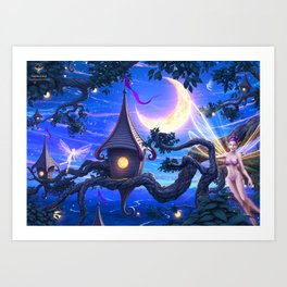 Faerie Land Art Print