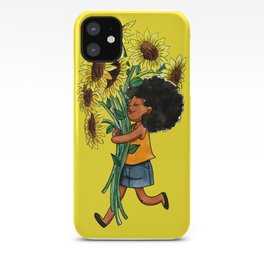 Sunflower Day iPhone Case