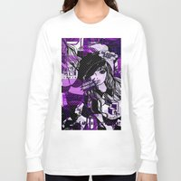 police Long Sleeve T-shirts featuring POLICE WOMEN by Chandelina