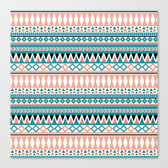Tribal Triangle Canvas Print