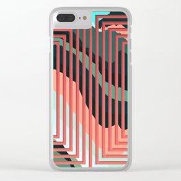 TOPOGRAPHY 2017-012 Clear iPhone Case