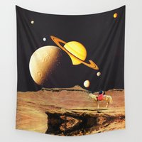 western Wall Tapestries featuring Western Space by Mariano Peccinetti