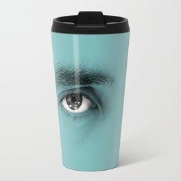 """""""Por cada minuto que cerramos los ojos perdemos sesenta segundos de luz."""" Travel Mug"""
