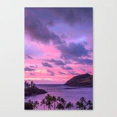 Island Sunrise - Hawaiian Sunrise Canvas Print