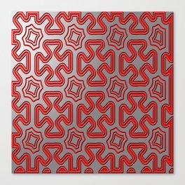 Christmas wrap pattern Canvas Print