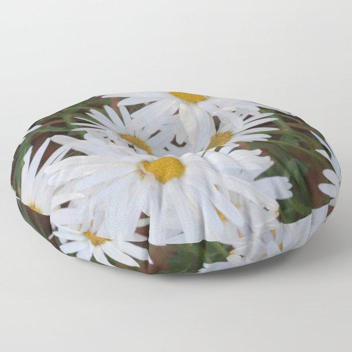 Daisies Floor Pillow