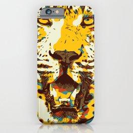 Big Cat Art, Leopard Panter, Jaguar Panter, Safari Wall Decor, Animal Poster, Wild life art, Feline. iPhone Case