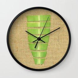Flora Segmented Wall Clock