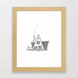 Hermit Cabin Framed Art Print