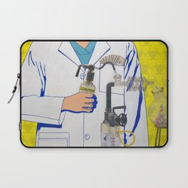 The Science of Capitalism Laptop Sleeve