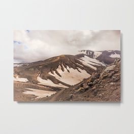 Volcanic Graphics Metal Print