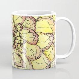 Yellow Flower Love Coffee Mug