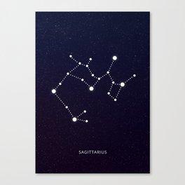 Sagittarius zodic sign Canvas Print