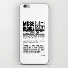 Muse inside iPhone Skin