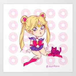 Chibi Sailor Moon Art Print