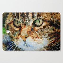 Tabby Cat Cutting Board