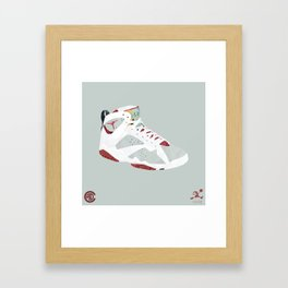 Hare 7's Framed Art Print