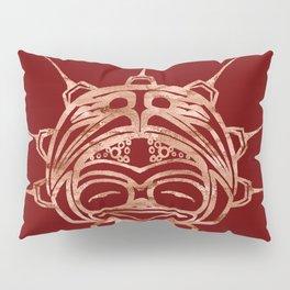 Copper Frog Blood Pillow Sham