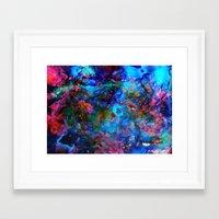 apollo Framed Art Prints featuring Apollo by Peta Herbert