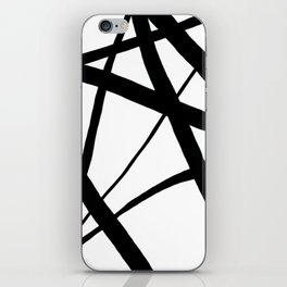 A Harmony of Lines and Shapes iPhone Skin