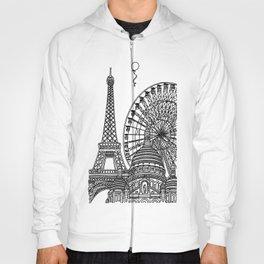 Paris Silhouettes Hoody