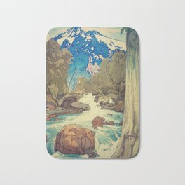 The Walk to Hokodoyama Bath Mat
