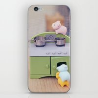 cooking iPhone & iPod Skins featuring Cooking Classes by Irène Sneddon