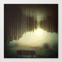 A Moment of Consciousness  Canvas Print