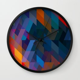 Obscured. Wall Clock
