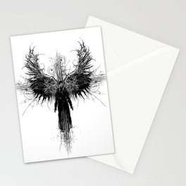 Particles and Angels Stationery Cards